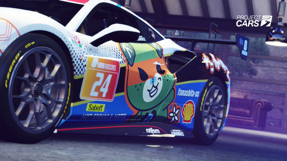 Cutest livery in #ProjectCARS3?  I think so! https://t.co/acbX3xW9fI