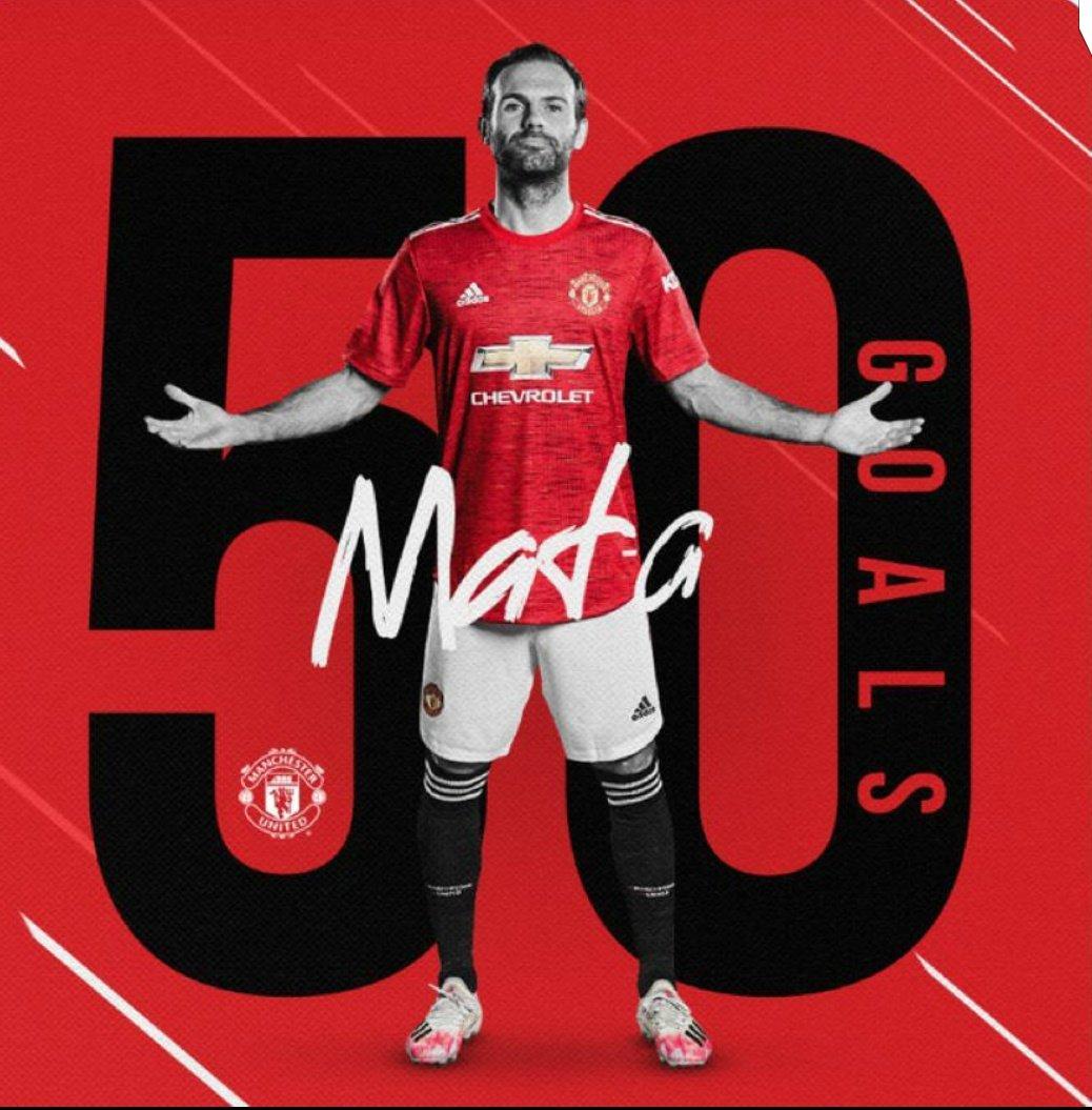 50 ⚽ @ManUtd ❤️🔴🔥