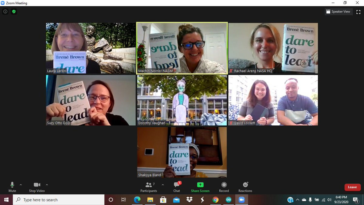 Dorothy Vaughan has joined a book study with #EinsteinFellows20. #paperexplorer @USGS_YES @AEF_Program