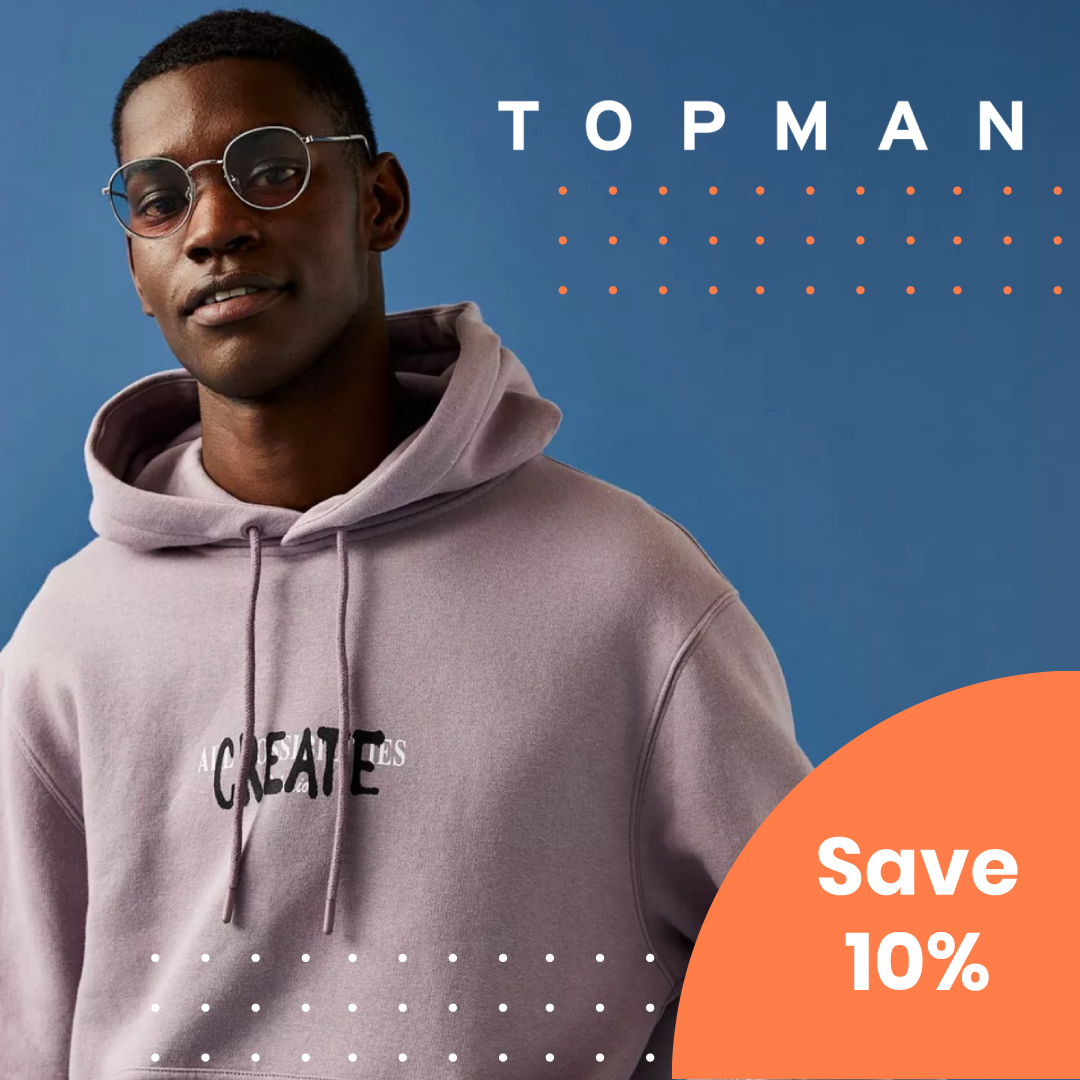 Get that discount, students. 10% Off at @Topman with the Stackable Student Discount.  Hurry, it ends soon. Grab the deal here: https://t.co/9k5DSGlBx0  #topman #studentdiscount https://t.co/78ou0C8nKX