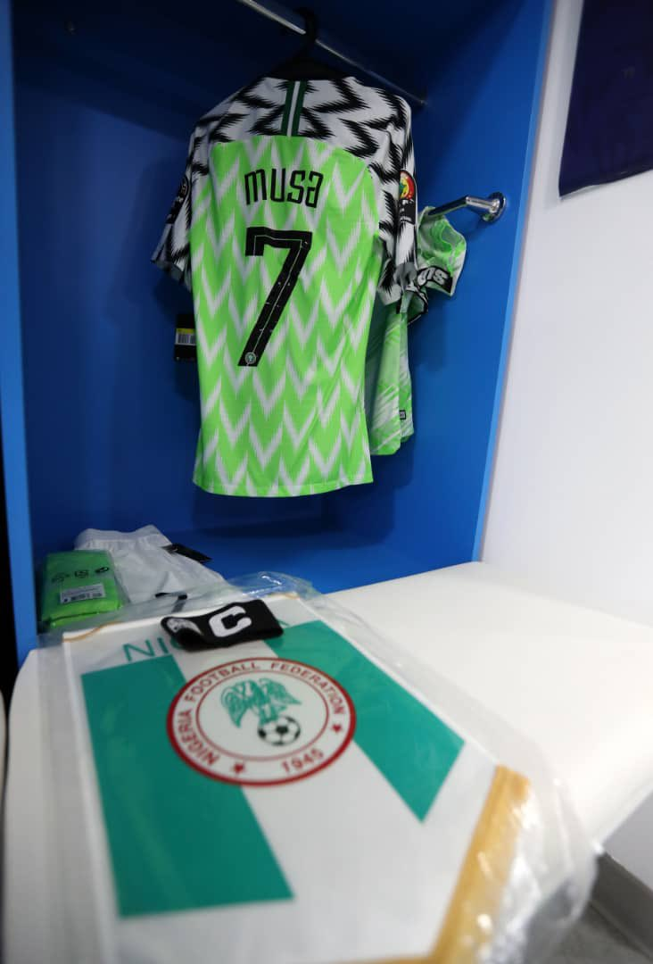 My beloved country Nigeria is @60 🎊🎊🎊. Proud to be a citizen and privileged to be able to serve especially through the game of football. ⠀ Praying that this new year brings about great changes and peace in the land. Wishing everyone a happy Independence Day 🇳🇬🦅🙏