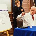 Image for the Tweet beginning: Kansas health secretary says the
