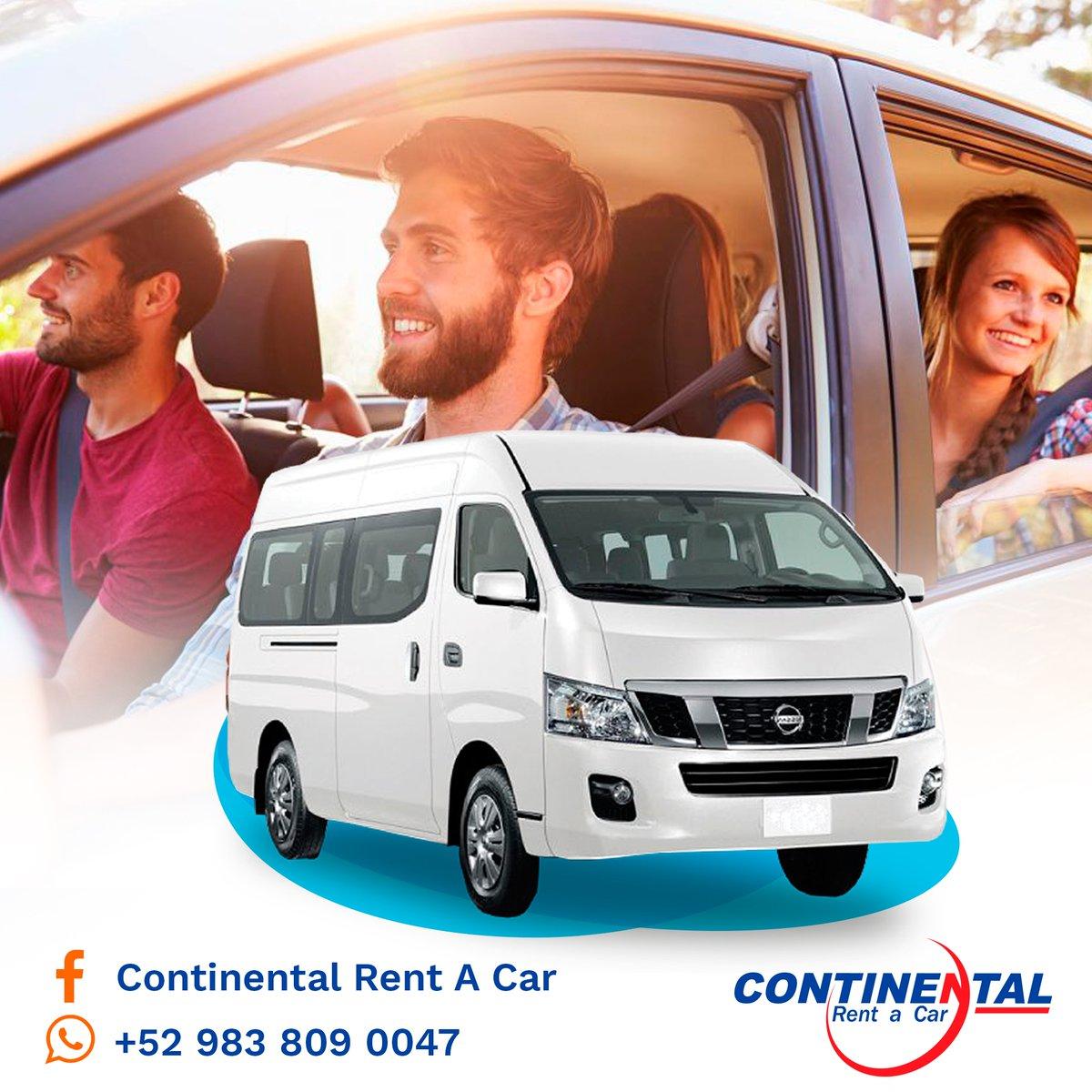 Con #ContinentalCar tus acompañantes y tú viajan con la seguridad y tranquilidad  de conducir vehículos impecables y solo los mejores modelos. #chetumal #ViajaSeguro #PlandeAmigos #rentacar #bacalar #mahahual #CostaMaya #rentadeautos Llámanos > Cotiza > Renta  📲983 809... https://t.co/ZQTDxyT1rR