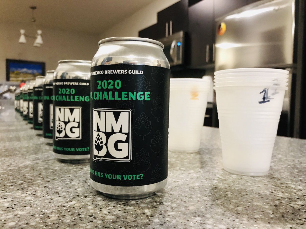 Rio Bravo wins the 2020 NM IPA Challenge by the closest of margins https://t.co/AowCa5I66W #CraftBeer #NMBeer https://t.co/Iru5AJCIrZ