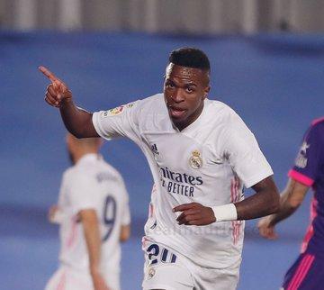 ⚽ #Liga #España🇪🇸 (Fecha Nº 4):  #RealMadrid 1 (Vinicius) - #Valladolid 0. https://t.co/LG6xQ28hHL