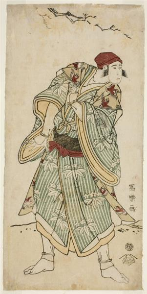 Tōshūsai Sharaku - Ichikawa Yaozō III as the sparrow-seller Yasukata, actually Chūzō Sanekata  1795  #japan #japaneseart #sharaku #東洲斎写楽 #ukiyoe #浮世絵 #日本美術 https://t.co/Bx2UJEC0Xl