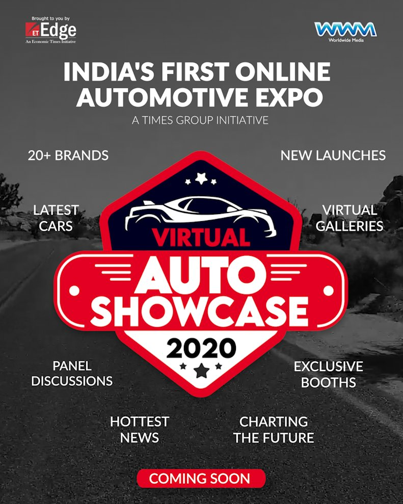 At the Virtual Auto Showcase 2020, India's first online automotive expo, catch the latest cars, hottest news and watch industry leaders chart automotive India's future. For queries, reach out to vas@wwm.co.in  #VirtualAutoShowcase2020 https://t.co/7o00dslRYf