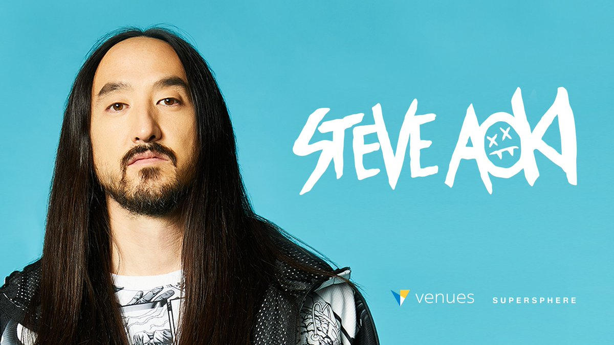 .@SteveAoki is live now in Venues. Feel the pulse-pounding energy of the latest immersive VR technology. ocul.us/steveaoki