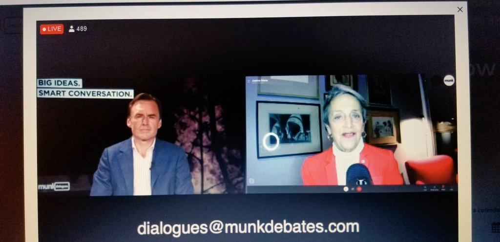 test Twitter Media - Wonderful discussion with @munkdebate and @SteinJanice https://t.co/7PEs1tIppY