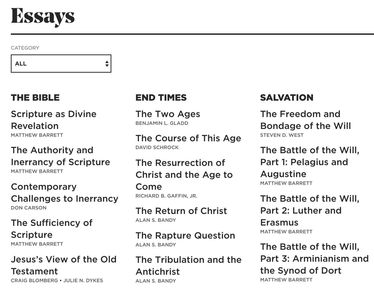 TGC just published 250 concise theology essays: thegospelcoalition.org/essays/ Phil Thompson introduces them: thegospelcoalition.org/article/tgc-es… I wrote 6 of them: andynaselli.com/250-concise-th…