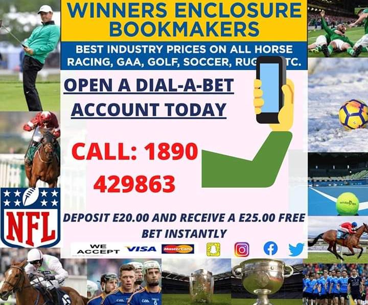winners enclosure bookmakers betting