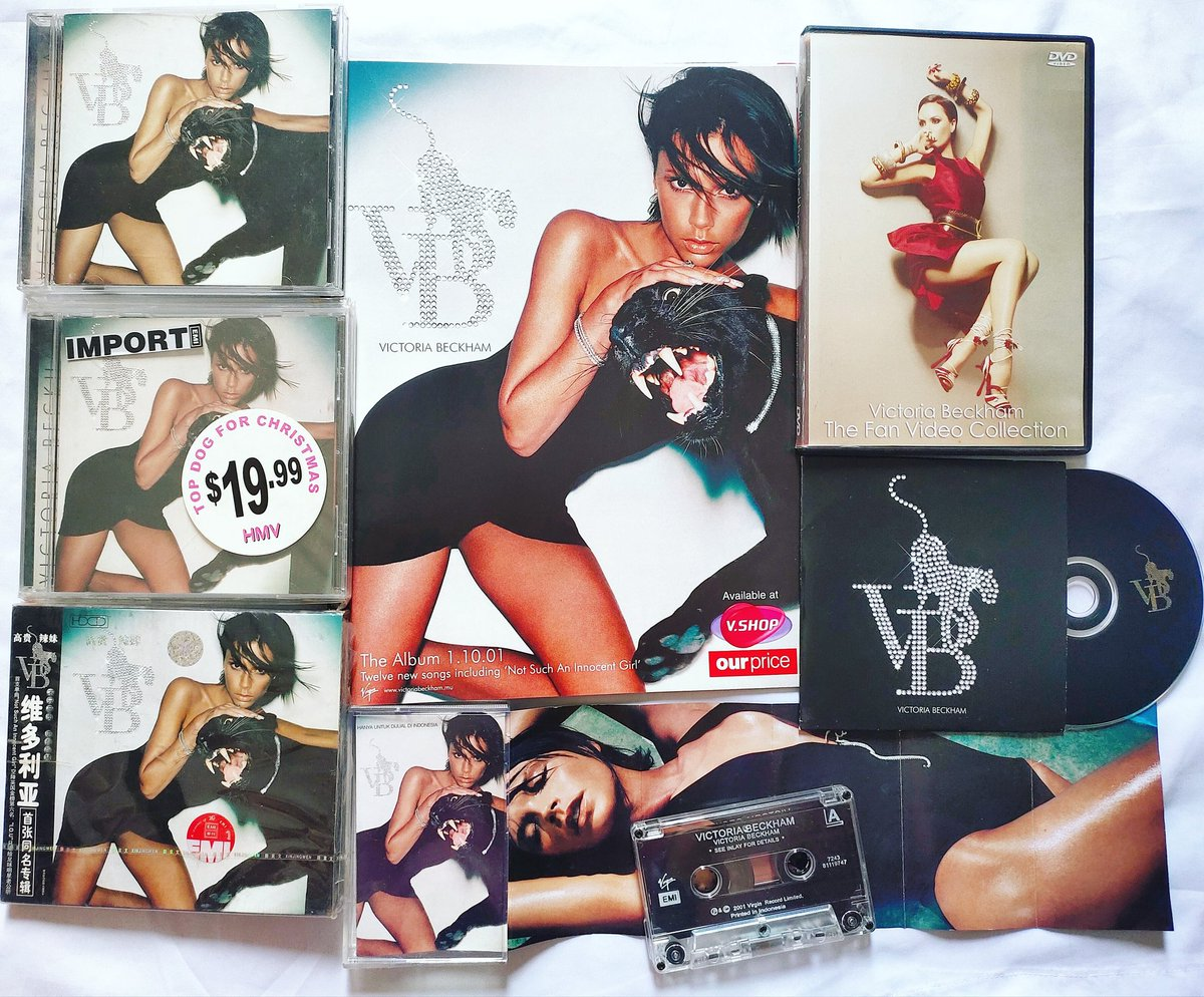 19 years ago @victoriabeckham released her first Solo album 'VB' (It was released on 1 October 2001) ✌️.  #victoriabeckham #spicegirls https://t.co/zgrsyhrkT9