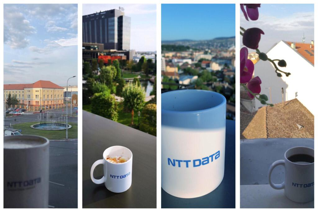 ☕️ Coffee is a good friend of great ideas and cool mornings 🙌! Happy to share our coffee with a view, for this International Coffee Day! #Recconect #OfficeView #NTTDATARomania https://t.co/Y9o0KpoVqp