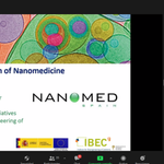 Image for the Tweet beginning: Thanks to @NanomedSpain for supporting