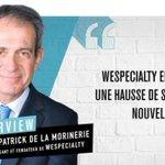 Image for the Tweet beginning: Patrick de La Morinerie :