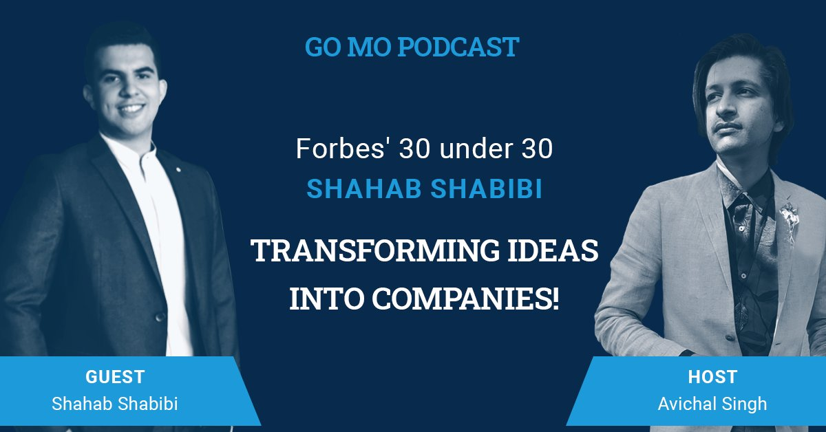 Our #GOMOpodcast this week featured Avichal Singh hosting an insightful Q&A with Shahab Shabibi, the Founder of @HeyKuya and @MyKuyapilipinas, who sold his first company to https://t.co/O1E6vHdr0X at 19. At 21, Shahab was named in the #Forbes' 30 Under 30 Asia list #podcast #gomo https://t.co/VZNxPaAKjl