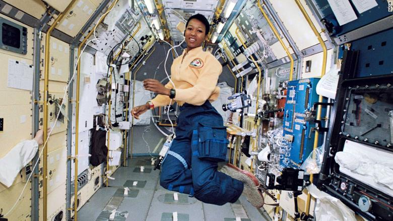 """""""Once I got into space, I was feeling very comfortable in the universe. I felt like I had a right to be anywhere...I belonged here as much as any speck of stardust, any comet, any planet"""" Mae Jemison, NASA astronaut, 1st African-American woman in space, 1992 #BlackHistoryMonth"""