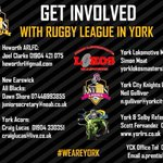 Image for the Tweet beginning: Our @SkyTryRL programme continues @AHSYork