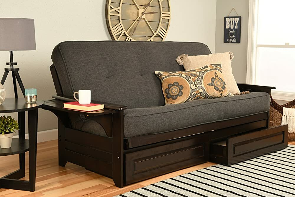Kodiak Furniture Phoenix Full Size Futon in Espresso Finish with Storage Drawers, Linen Charcoal https://t.co/z2vTN2gDXt #gifts #giftideas #shopping #household #holiday #blackfriday #thanksgiving #cybermonday @amazon #amazon #primeday https://t.co/V5EEyx7p7e