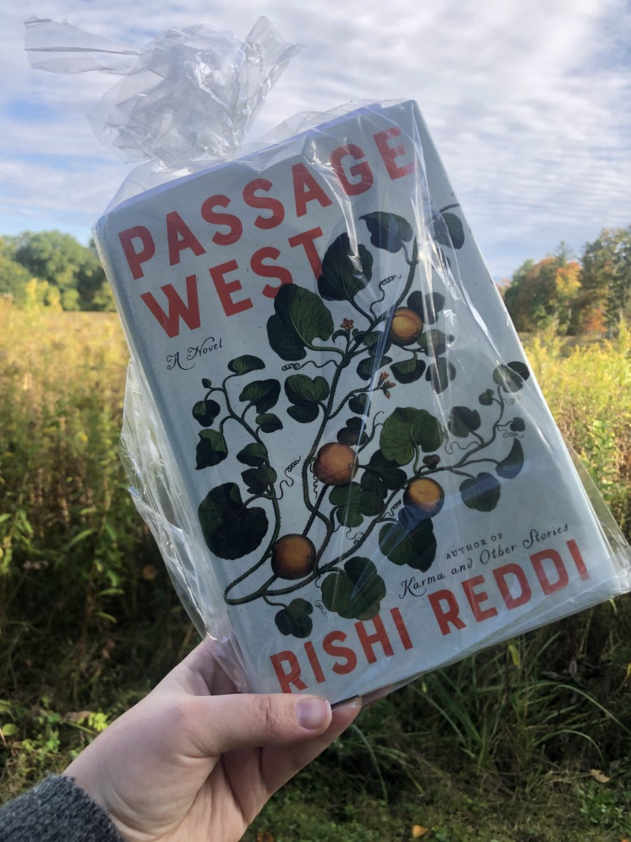Here's for all #TheBerkshires book lovers: head out to @Arrowhead1850 in Pittsfield to see if you can find #BBF2020 author @Rishi_Reddi's book PASSAGE WEST! #BBFBookHunt #BBFOnlinenandOutside #BBFOctober2020 https://t.co/5cNgk5AdS7