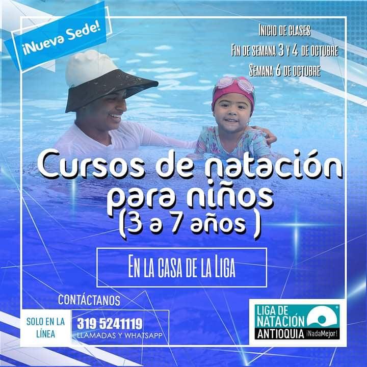 🎉📢📢📢#Ahora en #LaCasaDeLaLiga nuestra #NuevaSede tenemos para ti #CursosDeNatación para #Niños y #Niñas de 3 a 7 años. #VolvemosAlAgua #InscripcionesAbiertas con todos los protocolos de #BioSeguridad ante el #Covid19 #NadaMejor #Natación #Aprender #Nadar #Divertise https://t.co/ZYn85F2x4S