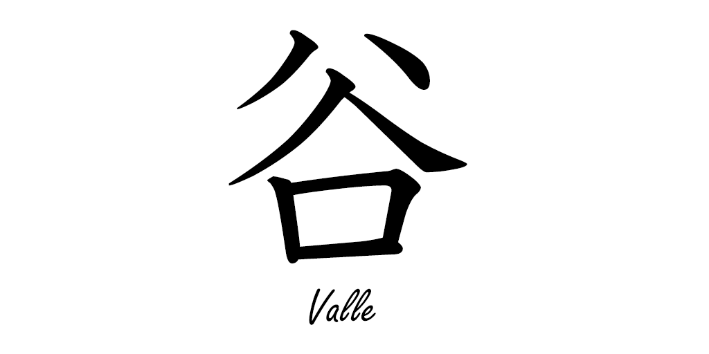 谷 [たに]= Valle #kanji #kanjienespañol #japones #español #谷 https://t.co/N2Zp074jAl