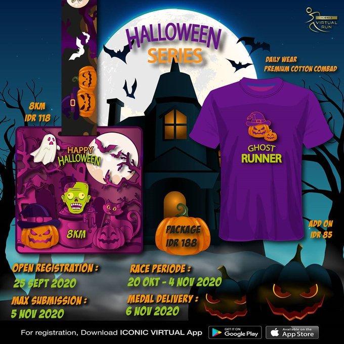 Iconic Virtual Run ∙ Halloween Series • 2020