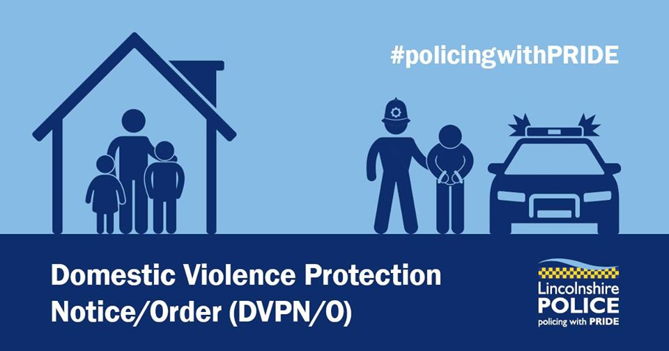 At Lincoln Mags Court this morning a Domestic Violence Protection Order was granted for a full period of 28 days ending 28 Oct. This was against a 36 year old man from #Grantham. @SNorburn1 #DomesticAbuse #YouAreNotAlone   More about DVPNs DVPOs here: https://t.co/16xAumMPvw https://t.co/NxaMzyJPeT