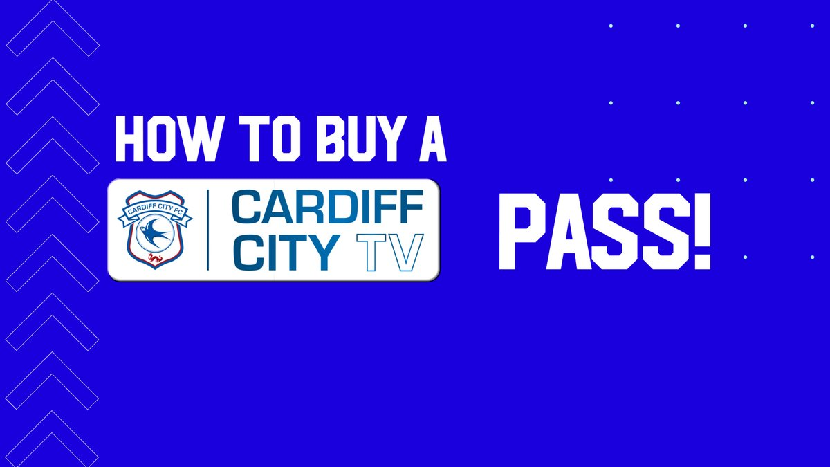 📺 Watch Saturday's fixture 🆚 #Norwich exclusively on #CardiffCityTV!  🌏 Available worldwide ✅ ST Voucher access ❌ No Sky Red Button  🎟 Buy your Match Pass here ➡️