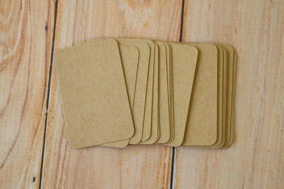 Check out these lovely Eco Kraft Brown handmade business cards - now restocked! https://t.co/a0m02rr1Uy #namecards #craftcards #paperlove #shabbychic #handmade #wedding #pocketletters #placecards #notecards #letterpress #countrystyle #atc #savethedate #creative https://t.co/YBfrIwsFJ5