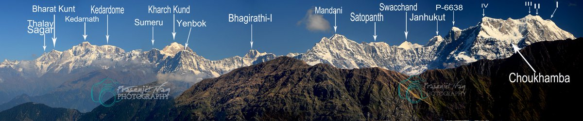 Panoramic View From #Chandrashila #Tunganath  #Chopta #Rudraprayag #Garwal #Himalayas #Uttarakhand #India #chardham #Uttarakhandtourism #Uttaranchaltourism #Devbhoomi #simplyheaven #snowpeak #mountains #Meadows #trekking #hikingadventures @UTDBofficial  @incredibleindia https://t.co/LBRSSFRZ6t