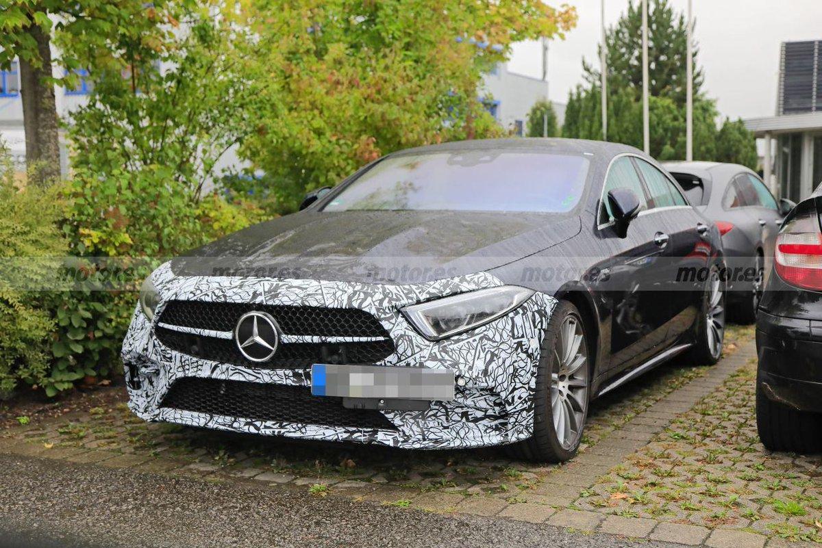 El Mercedes-AMG CLS 53 va a recibir una actualización y estas son sus primeras fotos  https://t.co/1DTc2tI4bo  @MercedesBenz @MBenzEspana @MBenzES_prensa @MercedesAMG @Daimler #Mercedes #mercedes #CLS #MercedesCLS #mercedescls https://t.co/EetZ7ITdO3