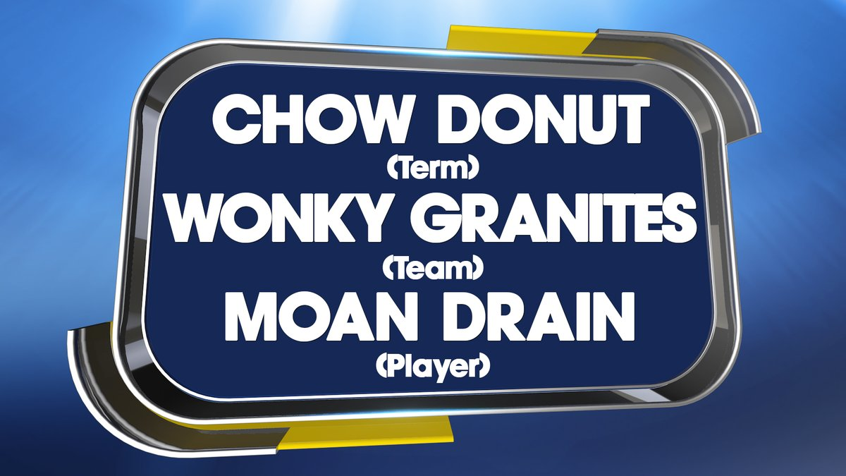 NAME GAME 😀   Can you work out these anagrams that are all linked to the same sport?  #QuestionofSport https://t.co/UeHQ23EC0n