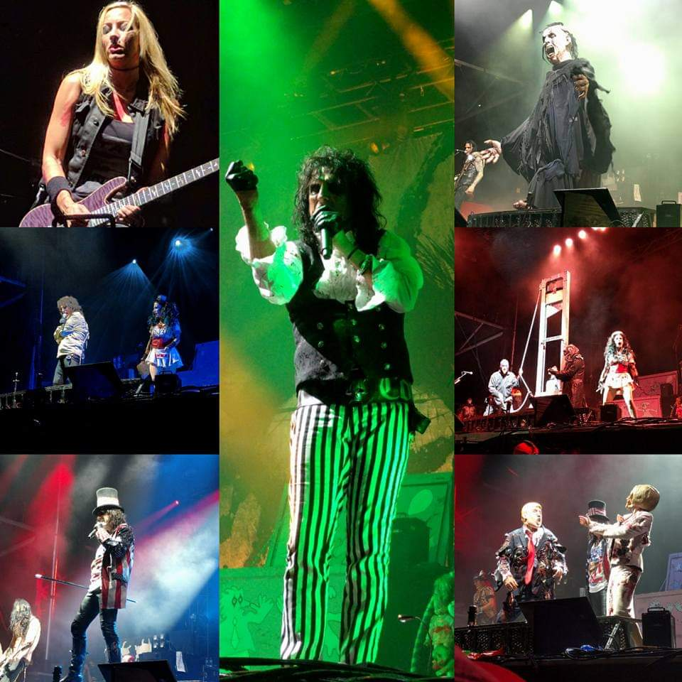 4 years ago today (well, technically last night) my mind was blown by @alicecooper and my face melted off by @hurricanenita in NJ! I was right up at the stage, the closest I've ever been at a Cooper show (seen 9 times). Despite the pouring rain, this was the best...show...ever! https://t.co/qEE3REbLcm