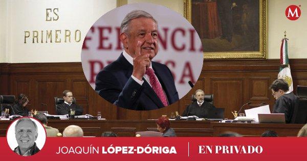 """@lopezdoriga """"Lo que sí es que de rechazar la consulta, como todo indica, habrá otra relación entre López Obrador y la Suprema Corte, y en lo personal, con su presidente Arturo Zaldívar, que no se arredra ante nada ni ante nadie"""": la columna de  @lopezdoriga https://t.co/9FvV73rmUT https://t.co/f83AnxyZMS"""