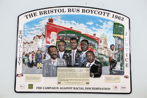 In 1963, campaigners started a city-wide bus boycott against Bristol Omnibus Companys policy of not employing black crew. Its success paved the way for the 1965 Race Relations Act which outlawed discrimination. These are the kind of heroes we should learn about at school! #BHM