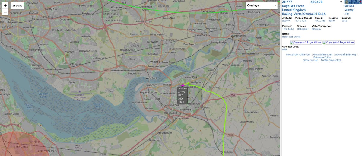 Chinook on approach to Liverpool Airport by the looks of it #avgeek #aviation #potn #Liverpool #LiverpoolAirport https://t.co/60vWH7knSH