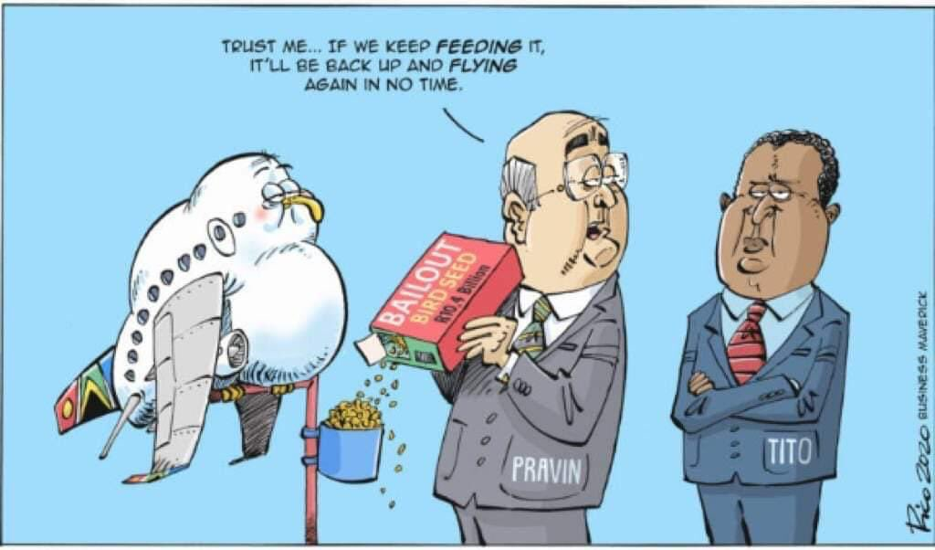 This is an unfair cartoon! Really now! Really! I am now focussed on the Medium Term Budget Policy Statement charting the economic recovery path forward. Please. No distractions.