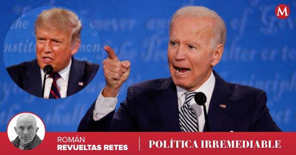 #PolíticaIrremediable | Joe Biden también es algo bravucón y el hombre se engancha cuando lo provocan, lee y escucha 🎙 la columna de @romanrevueltasr https://t.co/RMp1a1bpzJ https://t.co/5Qax7qZyRU