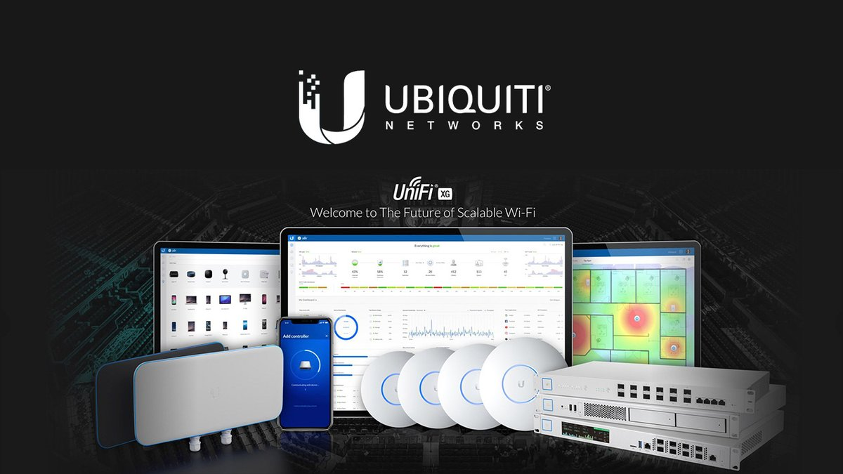 Build networks more powerful than ever before. The global leader in managed WI-FI systems. #ubiquiti #unifi #accesspoint #networking #Wireless #WiFi https://t.co/q1wFCpej9Q