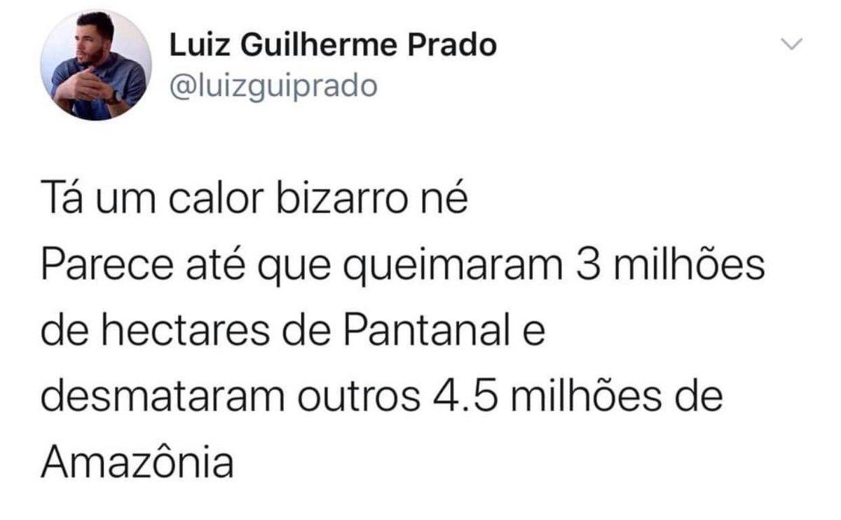 Tá um calor bizarro, né...  Via @luizguiprado https://t.co/nhRtT1be3f