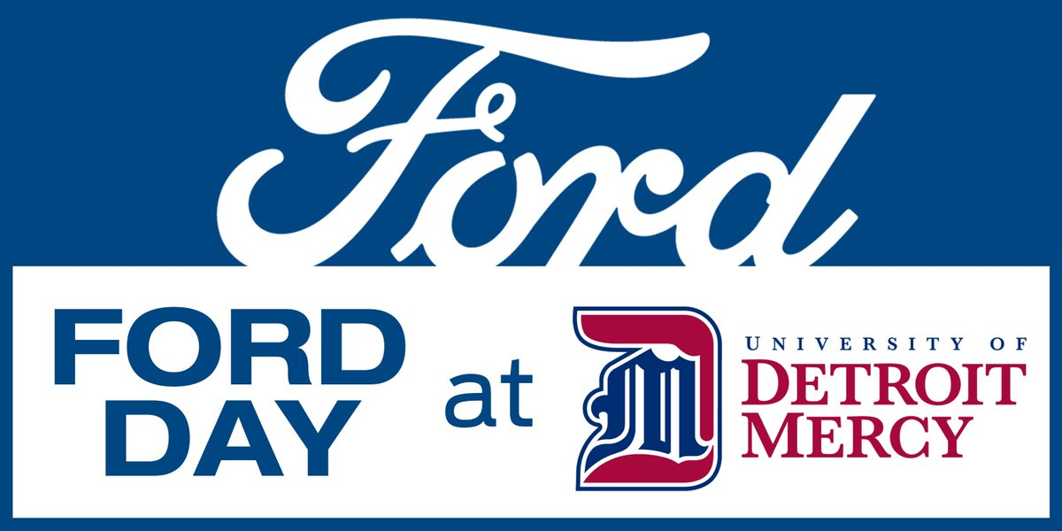 Join us today at 1pm ET for our Ford Finance Info Day at @detmercy. You can attend our Virtual Information Session at: https://t.co/sFjtqVvIoT. You can also apply to become an Intern to the Finance Career Foundation Program at https://t.co/MviqIUAJgs https://t.co/vJMGR0LQym