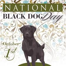 #HappyNationalBlackDogDay - to we #celebrate & #help raise #awareness of the plight of black dogs waiting for #adoption.  #NationalBlackDogDay #dwaa #dogbloggers #dogwriters #dogs #pets #petsarefamily https://t.co/bWNJDXJnRK