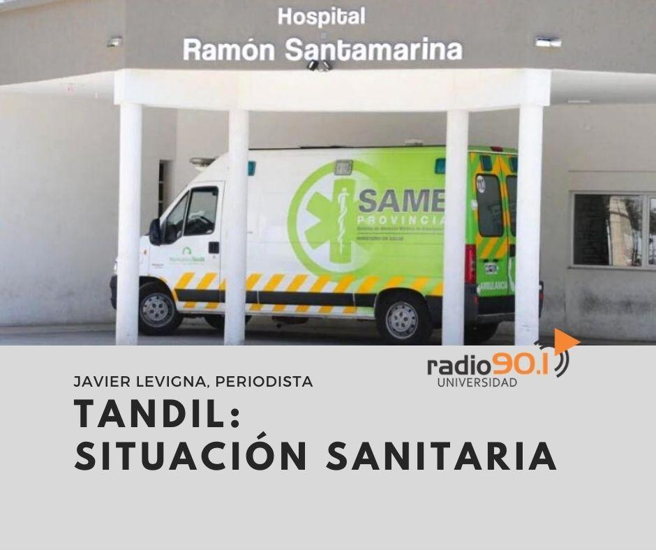 #AHORA 📻 #Aire Dialogamos sobre la situación sanitaria en Tandil, con  Javier Levigna. periodista. #QuedateEnCasa Escuchanos de 10 a 13 hs. en FM 90.1 o a través de la web https://t.co/f3cpubNYX8 https://t.co/0CIdQRv01n