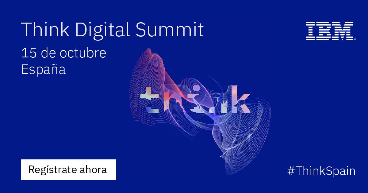 ¡No te pierdas el Think Digital Summit España de #IBM el próximo 15/10! Visita nuestro stand virtual donde podrás acceder a un vídeo exclusivo con #casosdeéxito explicados por clientes de Enzyme. Regístrate aquí gratis 👉 https://t.co/OoxWQBRyg1 #ThinkSpain @IBM_ES https://t.co/pgVs4Tlu0u