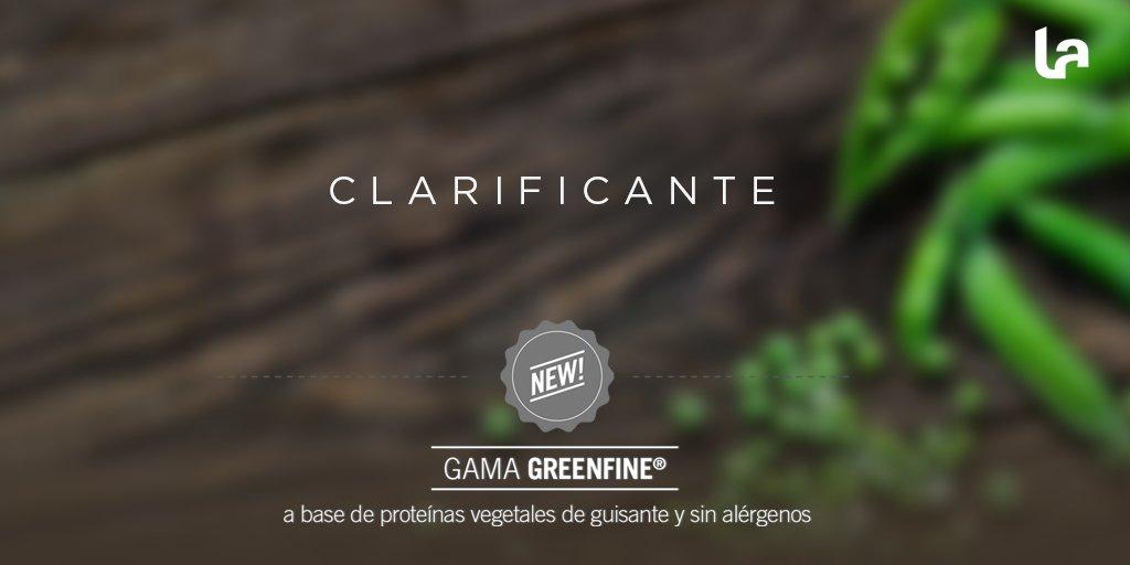 Clarificantes vegetales | GreenFine®️ |  A base de proteínas vegetales de guisante y sin alérgenos* | Lamothe-Abiet propone una gama de productos para el encolado de mostos y vinos, in alérgenos ni proteínas animales, compatible en vinificación biológica.  #Arpex #Vino #wine https://t.co/OZ9SvYNpv7