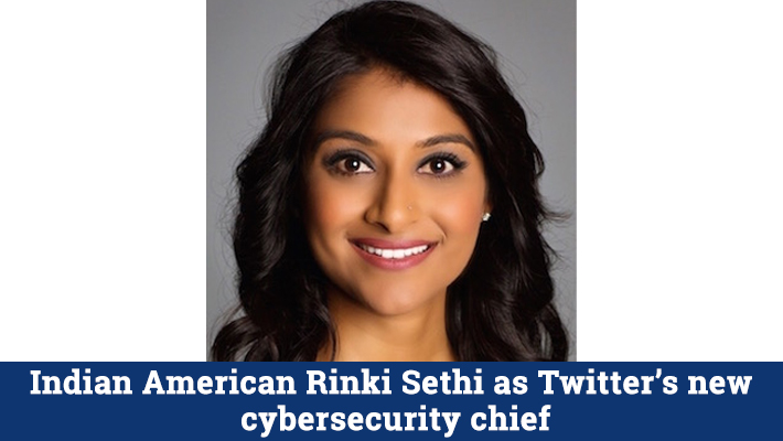 Twitter has appointed an Indian American and an ex-IBM executive as its new Vice President and Chief Information Security Officer (CISO). Read More:https://t.co/a9IrCNbNsc #indicanews #IndianAmerican #Twitter #CISO #cybersecurity #chief #rinkisethi #IBM #appointed #hacking https://t.co/Xvcp7iK3YH