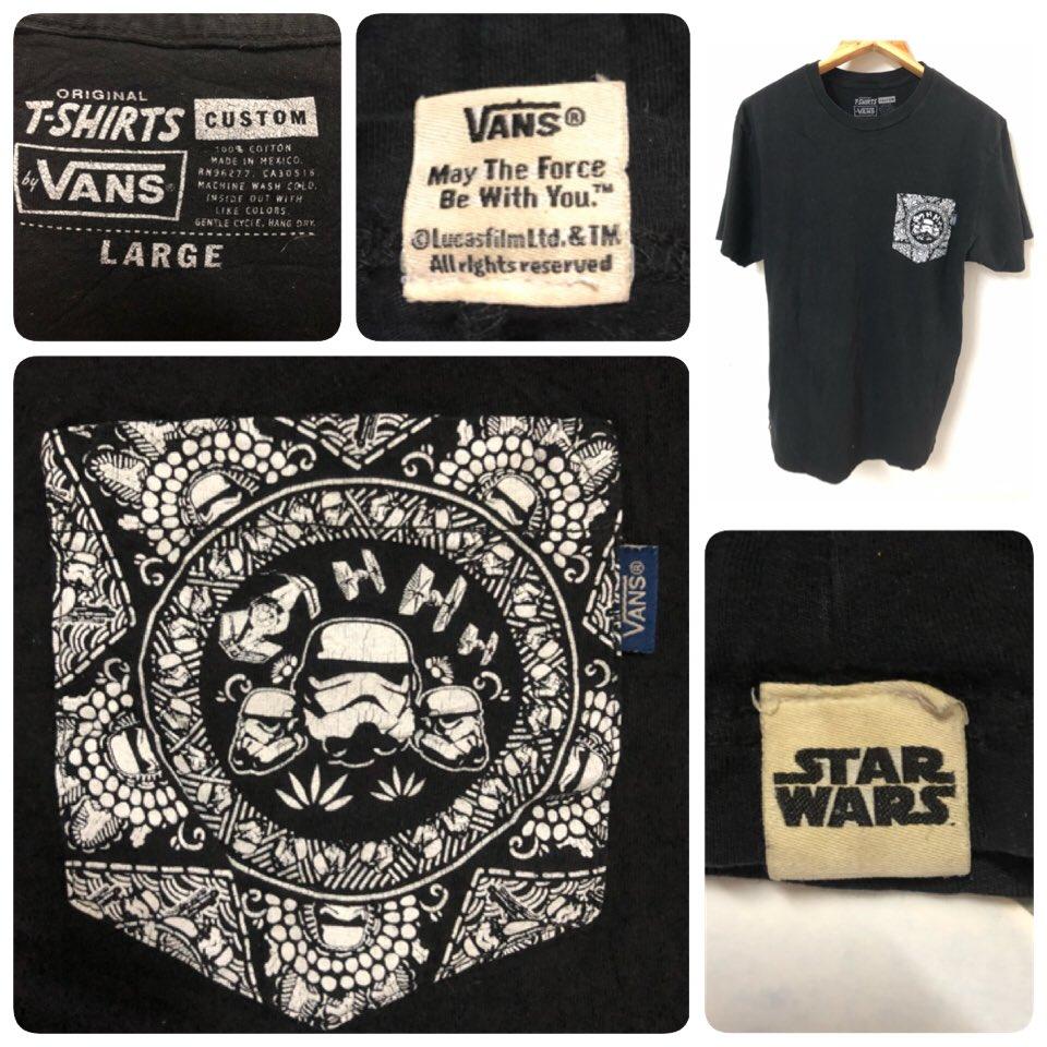 """เสื้อยืดมือสอง VANS x STAR WARS 🔸ราคา 450 บ. 🔸อก 19.5"""" ยาว 27"""" #เสื้อวินเทจ #วินเทจ #vintage #vtg #เสื้อยืด #มือสอง #ของถูก #ยี่ห้อ #เสื้อยืดมือสอง #secondhand #used #brand #tshirt #เสื้อแบรนด์ #เพจ #ทวิต #ไอจี #ขายดี #เก็บเงินปลายทาง #cod #starwars #สตาร์วอส์ #vansxstarwars https://t.co/j9Xauy1pCS"""