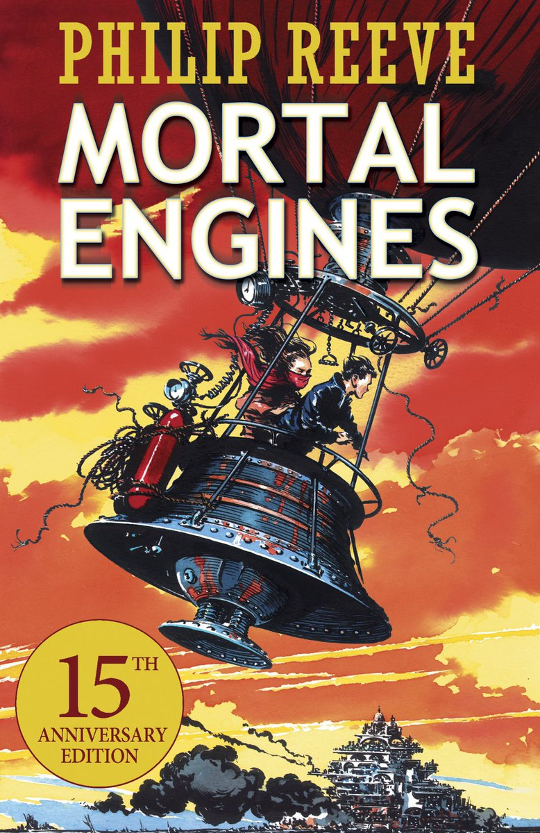 #Book 📖 Awesome of the Day: #Steampunk ⚙️ #Dystopian #Fantasy #Novel 'Mortal Engines' By Philip Reeve via @MrsKelPrimary #SamaBooks️ 📚