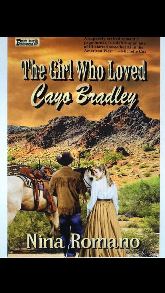 ' 5⭐️.  Well written, beautifully paced, engaging characters, wonderful love story.'  The Girl Who Loved Cayo Bradley by @ NinsTheWriter.  FREE on KindleUnlimited.  Romance HistoricalFiction #HistFic Western #LitFic ASMSG IARTG IAN1 Kindle books ebooks https://t.co/XvjaetL4pv https://t.co/eU3qQMHlkg